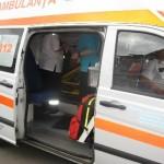 Pieton lovit de o mașină pe strada Gării din Aiud