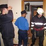 Intervenție a pompierilor în cursul acestei seri pentru deblocarea ușii unui apartament din Aiud