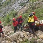 Salvamont Alba a intervenit ieri la Rimetea pentru recuperarea trupului adolescentului căzut de pe Piatra Secuiului