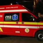 Copil de 3 ani rănit, după ce mașina în care se afla a fost tamponată din spate, la Galda de Jos