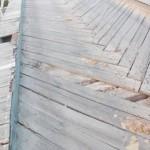 Podul peste Mureş de la Rădeşti – un real pericol!