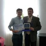 Sergiu Paşca a primit distincţia de Cetăţean de Onoare al municipiului Aiud