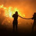 Intervenție a pompierilor militari din Aiud pentru stingerea unui incendiu, izbucnit la un imobil situat pe strada Gării
