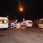 Coliziune între 3 autovehicule la ieșirea din Aiud înspre Teiuș
