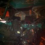 O persoană a decedat după o coliziune între 3 autovehicule la ieșirea din Aiud înspre Teiuș