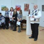 """Poetul național Mihai Eminescu a fost sărbătorit la Centrul Cultural """"Liviu Rebreanu"""" din Aiud"""