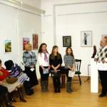 """Ieri la Centrul Cultural """"Liviu Rebreanu"""" din Aiud a avut loc vernisajul Salonului de iarnă"""