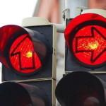Primul semafor în Aiud