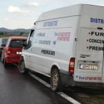 4 autovehicule implicate într-un accident în lanț petrecut între Aiud și Teiuș pe DN 1