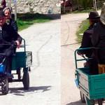 Transport local, original, la Rimetea