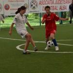 """Mâine va avea loc la Aiud finala județeană a programului """"Fotbal și Feminitate 2014"""" pentru clasele I-IV"""