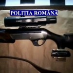 Tată şi fiu din Galda de Jos surprinşi în flagrant de polițiști după ce au împuşcat un mistreţ
