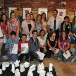 Tineri artişti din mai multe ţări au participat la expoziţii, ateliere de teatru, seri de muzică şi carnaval în cadrul taberei de creație Inter-Art de la Aiud