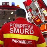 Șoferiță rănită după o coliziune între două autoturisme petrecută la Aiud