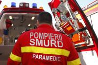 Bărbat de 67 de ani din Sibiu cercetat de polițiști, după ce a provocat un accident rutier soldat cu rănirea unei persoane, pe Strada Tudor Vladimirescu din Aiud