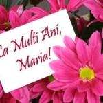 Mesaje, SMS de felicitare și urări de SFÂNTA MARIA 2014 | aiudinfo.ro