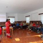 Cercetați și voluntari ai Crucii Roșii s-au instruit în Tabăra de prim-ajutor și intervenție de la Roica