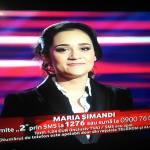 """Aiudeanca Maria Șimandi a avut din nou o prestație de nota 10, în emisiunea din această seară a show-ului """"Vocea României"""""""