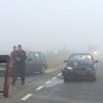 Două persoane au fost rănite după o coliziune între două autovehicule petrecută la Mirăslău