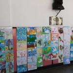 """Expoziție-concurs de desene inspirate din lumea păsărilor la Școala """"Axente Sever"""" din Aiud"""
