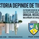 """Peste 70 de tone de deșeuri reciclabile, colectate la Aiud în cadrul competiției """"Orașul Reciclării"""""""