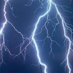 Furtună extrem de puternică la Aiud, în cursul serii trecute
