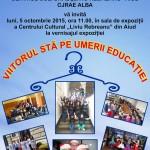 Luni, 5 octombrie: Expoziție de fotografie și recital de chitară și pian, la Aiud cu prilejul Zilei Mondiale a Educatorului