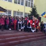"""Marea Unire de la 1918 sărbătorită la Școala Gimnazială """"Axente Sever"""" din Aiud"""