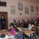 """150 de elevi de la Colegiului Naţional """"Titu Maiorescu"""" şi Colegiul Tehnic din Aiud au participat la dezbateri pe tema prevenirii delincvenţei juvenile"""
