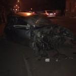Un tânăr de 21 de ani din Aiud a decedat după ce a intrat cu mașina pe care o conducea în zidul unei case din Teiuș