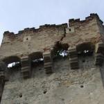 Cetatea Aiudului a devenit periculoasă!