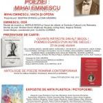 """Vineri va fi organizat la Aiud evenimentul cultural """"Ceasul de taină al poeziei: Mihai Eminescu"""""""