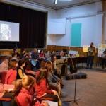 """Peste 50 de tineri artiști au urcat pe scena Centrului Cultural """"Liviu Rebreanu"""" din Aiud, în cadrul spectacolului """"Bucuria Copilăriei"""""""