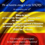 Primăria Aiud a pregătit, pentru zilele de 30 noiembrie și 1 decembrie 2016, o serie de manifestări dedicate Zilei Naţionale a României. Vezi detalii