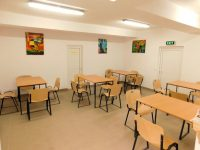 În cadrul Penitenciarului din Aiud a fost amenajat un spațiu special, destinat copiilor care își vizitează părintele deținut