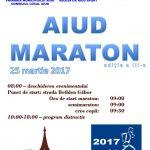 25 martie 2017: 500 de persoane vor participa la cea de-a III-a ediție a Maratonului de la Aiud. Gabriela Szabo, invitat special al evenimentului