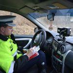 42 de conducători auto, care au depășit limita legală de viteză pe DN 1, au fost sancționați de polițiștii rutieri din Aiud
