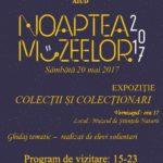 Sâmbătă, 20 mai 2017: Noaptea Muzeelor 2017 va fi sărbătorită și la Aiud