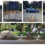 O nouă parcare este în curs de reabilitare pe strada Axente Sever, din Aiud