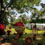 """Zeci de soiuri de trandafiri şi aranjamente florale, expuse la Ciumbrud cu prilejul celei de-a XVI-a ediții a """"Zilei Rozelor"""""""