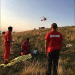 Bărbat de 49 de ani, grav rănit după ce a căzut cu parapanta în zona Piatra Secuiului, de lângă Rimetea