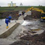 Lucrări pentru prevenirea inundaţiilor în Poiana Aiudului