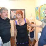 Un apartament din Aiud, transformat în galerie pentru artiști greci