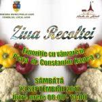 """Sâmbătă, 23 septembrie 2017: """"Ziua Recoltei"""" – în Piața Dr. Contantin Hagea, din Municipiul Aiud"""