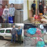 """Alimente colectate de elevii Școlii Gimnaziale """"Ovidiu Hulea"""" din Aiud, pentru persoanele nevoiașe, cu prilejul """"Săptămânii legumelor şi a fructelor"""""""