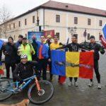 La inițiativa lui Levente Polgar, două zeci de persoane au alergat de la Aiud la Alba Iulia de Ziua Națională a României