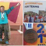 Aiudeanul Ioan Dîrlea, campion mondial şi medalie de bronz la Jocurile Mondiale pentru persoane cu dizabilităţi