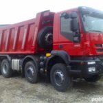 Maşinile de mare tonaj folosite la construcţia lotului 2 al Autostrăzii Sebeş – Turda nu mai au acces pe drumul judeţean Ciumbrud – Rădeşti!