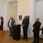 """Artiștii aiudeni Ștefan și Zoltan Balog își expun în aceste zile lucrările, din cadrul expoziției """"Viziuni interioare"""", la Muzeul de Artă Cluj-Napoca"""