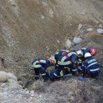 ISU Alba a organizat un exercițiu de simulare pentru salvarea a două persoane prinse sub un mal de pământ, în zona podului peste Mureș de la Rădești